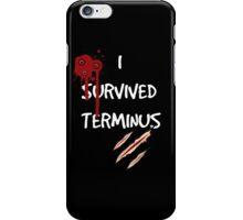 I survived terminus (Black version) iPhone Case/Skin