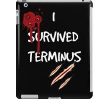 I survived terminus (Black version) iPad Case/Skin
