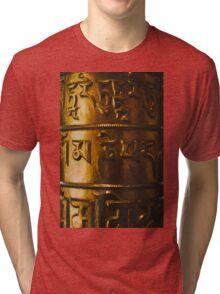 Golden prayer Tri-blend T-Shirt