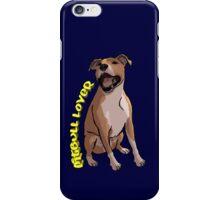 Pitbull Lover iPhone Case/Skin