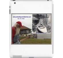Protecting our Indian river then now always iPad Case/Skin