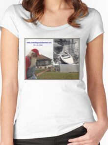 Protecting our Indian river then now always Women's Fitted Scoop T-Shirt
