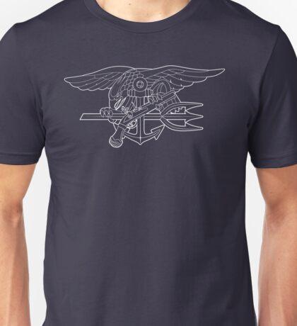 Navy SEALs white Unisex T-Shirt