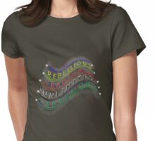 Rebellious FREEDOM Womens Fitted T-Shirt