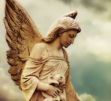 Guardian Angel in the Clouds by Melissa Bittinger