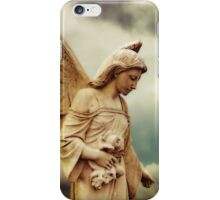 Guardian Angel in the Clouds iPhone Case/Skin