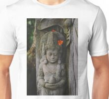And in the lines of carved stone one will never age. Unisex T-Shirt