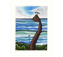 Adelaide Crescent, Hove Art Print