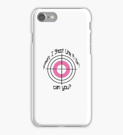 I Shoot Like A Girl iPhone Case/Skin