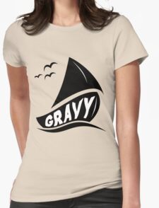 Gravy Boat Womens Fitted T-Shirt