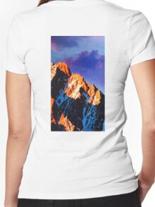 big hill back 2014 Women's Fitted V-Neck T-Shirt