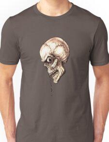 CREEPY SKULL TRANSPARENT Unisex T-Shirt