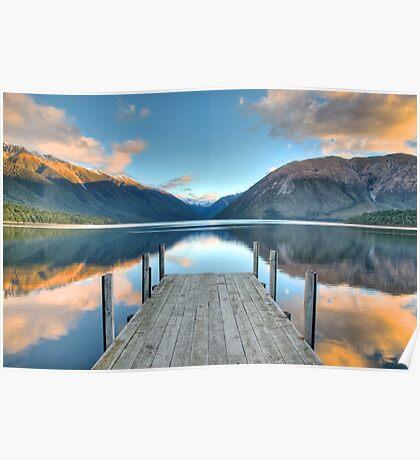Lake Rotoiti, Nelson Lakes Poster