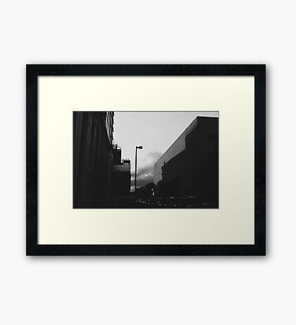 Night at the museum. Framed Print