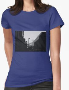 Night at the museum. Womens Fitted T-Shirt