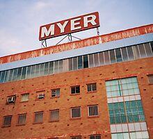 Myer. by strangerandfict