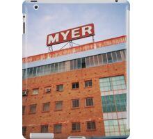 Myer. iPad Case/Skin