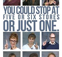 You Could Stop At Five or Six Stores... by quinnwentz777