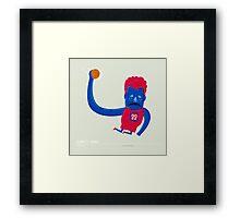 Shake and Blake Griffin Framed Print