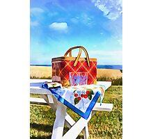 Summer Picnic Acrylic Photographic Print
