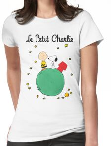 Little Prince Womens Fitted T-Shirt