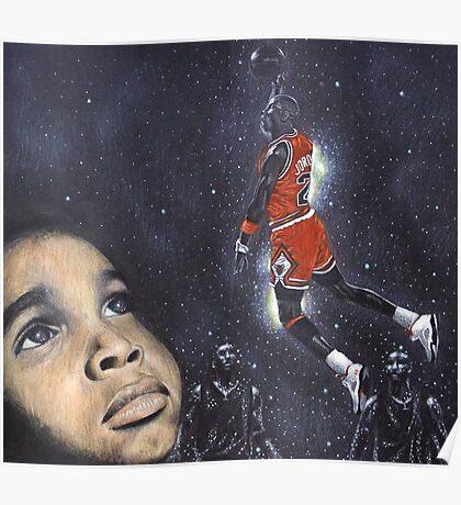 Michael Jordan Dreams Poster