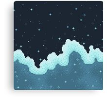 Snowall Galaxy Canvas Print
