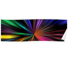 Warp Speed Panorama Poster