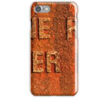Engine room iPhone Case/Skin