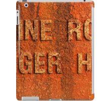 Engine room iPad Case/Skin