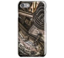 Royal enfield bike iPhone Case/Skin