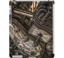 Royal enfield bike iPad Case/Skin