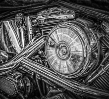 Motor bike detail by Dobromir Dobrinov