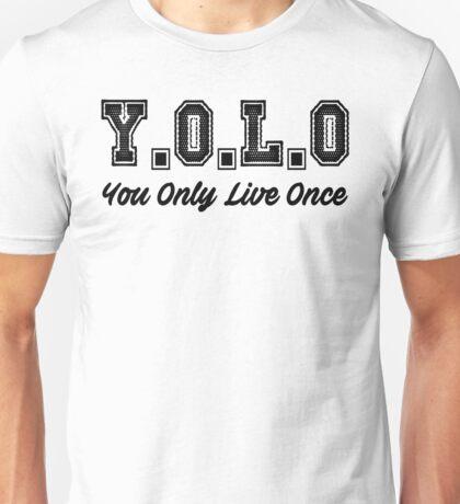 Y.O.L.O Unisex T-Shirt