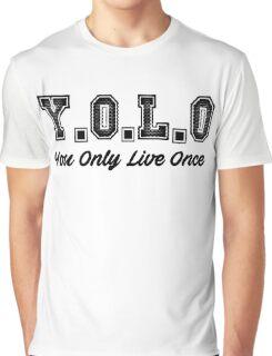 Y.O.L.O Graphic T-Shirt