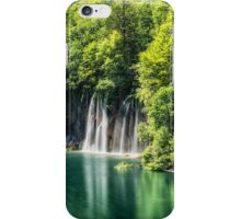 Plitvice Lakes  iPhone Case/Skin