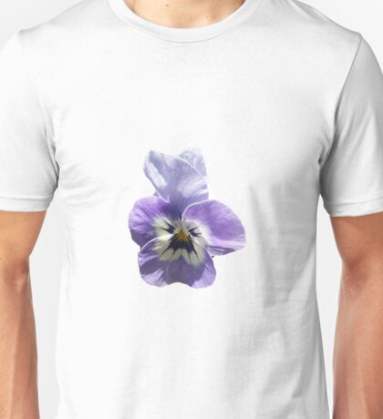 Light Purple Pansy Unisex T-Shirt