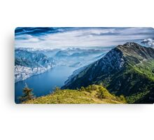 Garda Lake Canvas Print