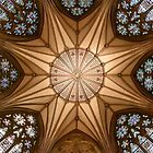 Ceiling of the Chapter House of York Minster (York, United Kingdom) by D. & M. Mehl