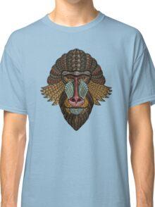 Mandrill Portrait Classic T-Shirt