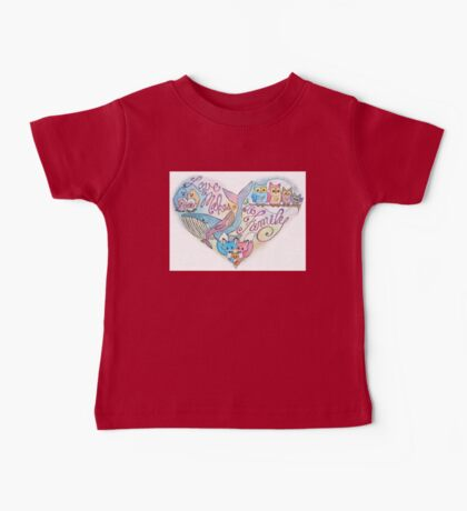 Love Makes a Family Baby Tee