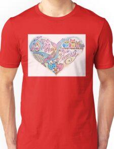 Love Makes a Family Unisex T-Shirt