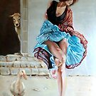 dance with a duck by Hidemi Tada