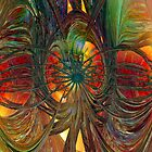 Peacock city of Abstract Fx - G Adam Orosco - Ovah FX 3D  by AdamF-X29