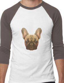 French bulldog. Men's Baseball ¾ T-Shirt