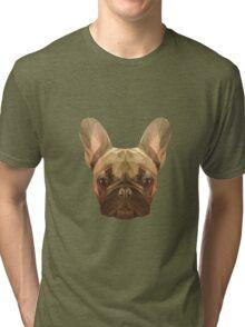 French bulldog. Tri-blend T-Shirt