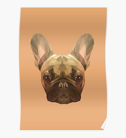 French bulldog. Poster