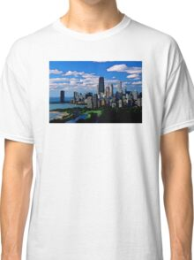 Chicago Oil Painting Classic T-Shirt