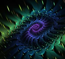 Raw Fractal Bloom by Manafold