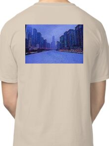 Chicago Oil Painting #2 Classic T-Shirt